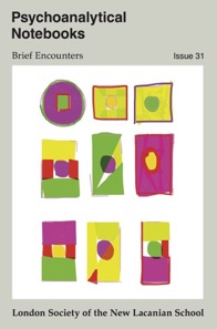 Publication of the London Society of the New Lacanian School
