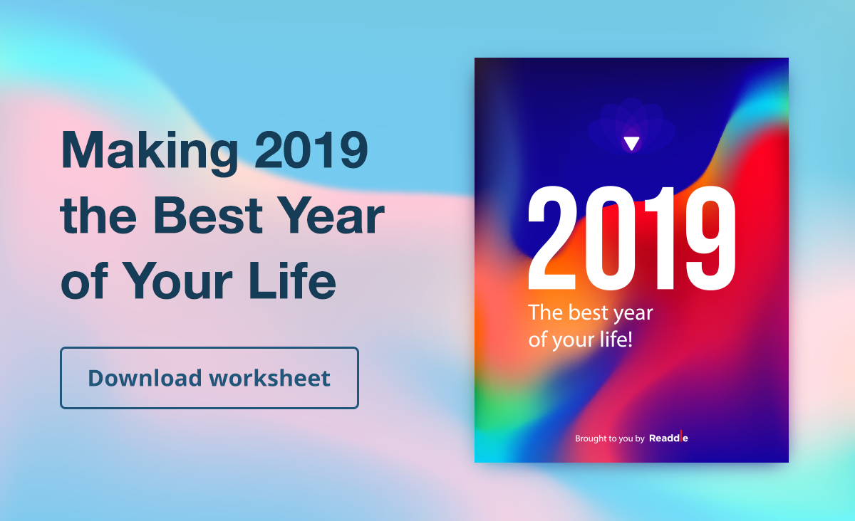Making 2019 the Best Year of Your Life