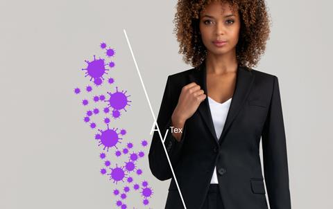 Clubclass adds antiviral finish fabric to clothing range