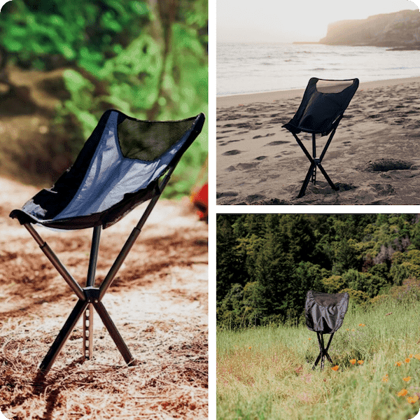 Campster full-height ultralight chair seats you comfortably at full height