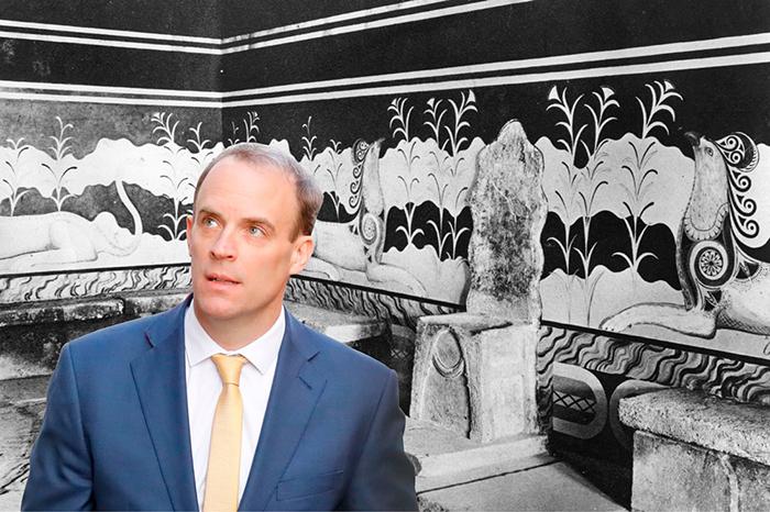 The foreign secretary who holidays like a Minoan king