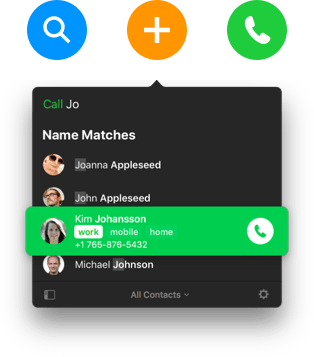 Now it's fun to use your contacts