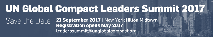 UN Global Compact Leaders Summit 2017