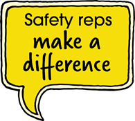 Safety reps make a difference
