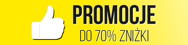 Promocje! Do 70% zniżki!