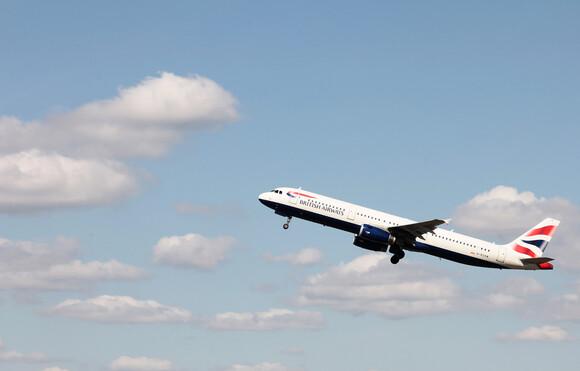 A321 in flight