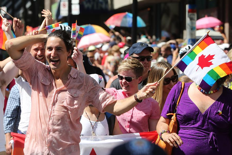 Justin Trudeau at Toronto Pride
