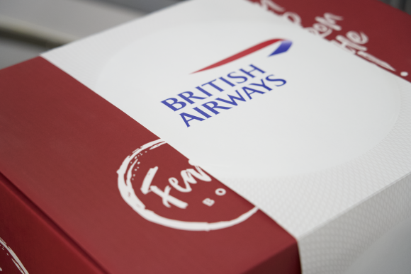 British Airways Feast Box First meal kit