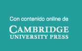 Con contenido online de Cambridge University Press