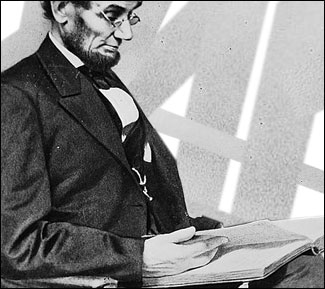 Lincoln reads
