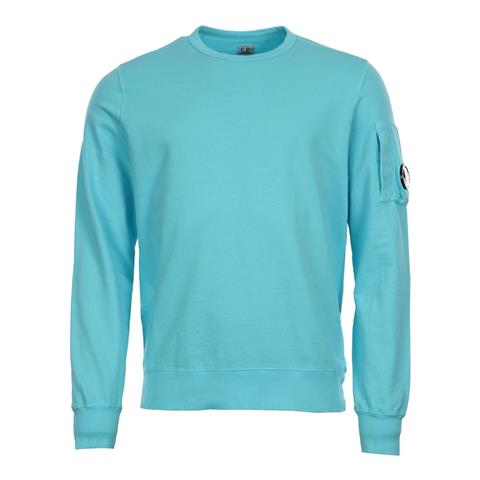 CP Company Arm Lens Sweat Blue